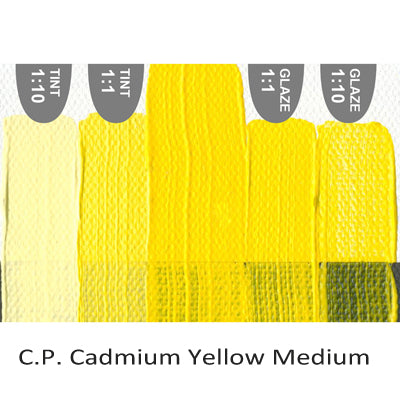 Golden Heavy Body Acrylic paint CP Cadmium Yellow Medium