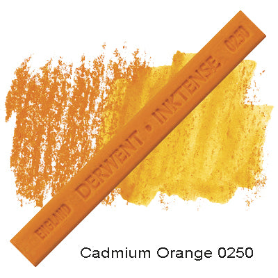 Derwent Inktense Blocks Cadmium orange 0250