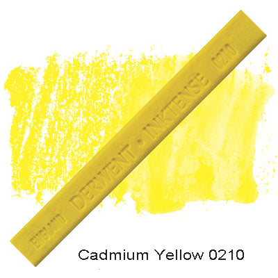 Derwent Inktense Blocks Cadmium Yellow 0210