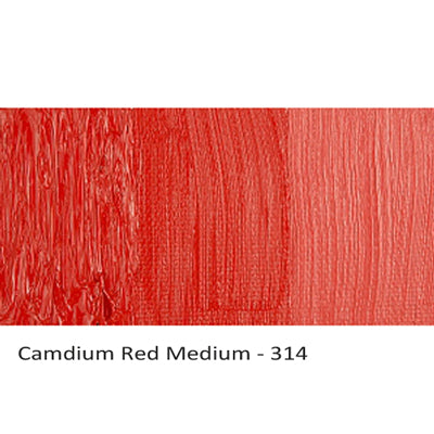 Cobra Water-mixable Oil Paint Cadmium Red Medium 314