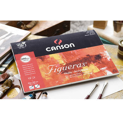 Canson Figueras is a paper specially designed for oil painting.