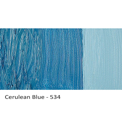 Cobra Water-mixable Oil Paint Cerulean Blue 534