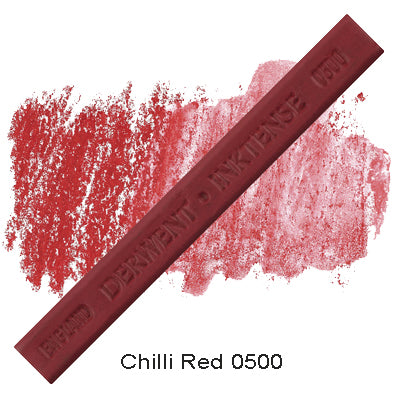 Derwent Inktense Blocks Chilli Red 0500