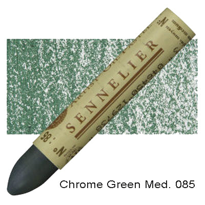Sennelier Oil Pastels Chrome Green Medium 085
