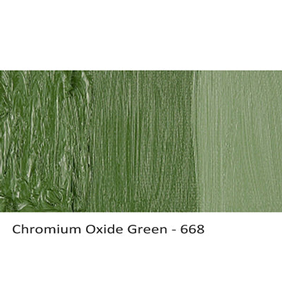 Cobra Water-mixable Oil Paint Chromium Oxide Green 668