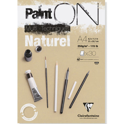 Clairefontaine Paint On - Natural