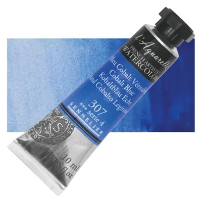 Sennelier L'Aquarelle Watercolours Cobalt Blue 307
