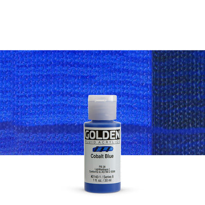 Golden Fluid Acrylics Cobalt Blue