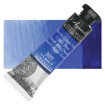 Sennelier L'Aquarelle Watercolours Cobalt Deep 309
