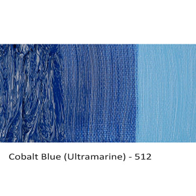 Cobra Water-mixable Oil Paint Cobalt Blue (Ultramarine) 512