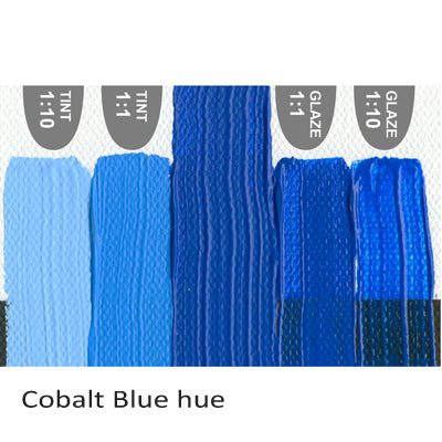 Golden Heavy Body Acrylic paint Cobalt Blue hue