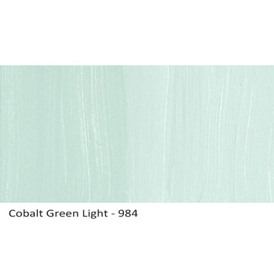 Lascaux Studio Acrylics Cobalt Green Light 984