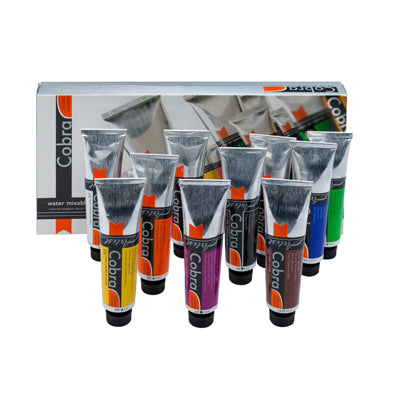 Cobra Water-mixable Oil Paints - set of 10