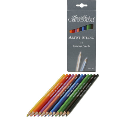 Cretacolour Artist Studio Coloured pencil sets