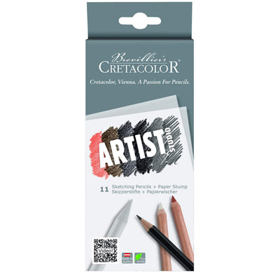 Cretacolour Artist Studio Sketching set