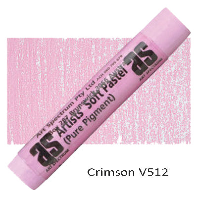 Art Spectrum Soft Pastels Crimson V512