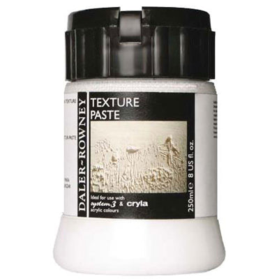 A thick paste which is used to build up heavy layers of texture