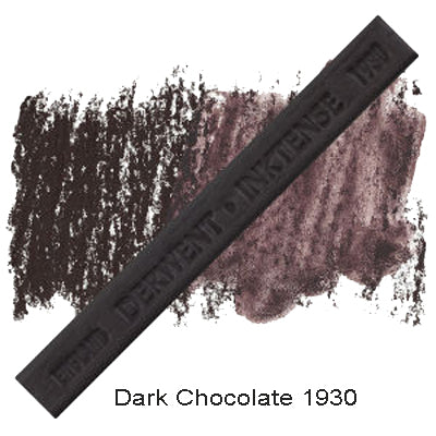 Derwent Inktense Blocks Dark Chocolate 1930