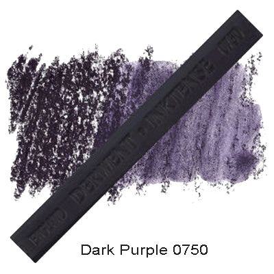 Derwent Inktense Blocks Dark Purple 0750