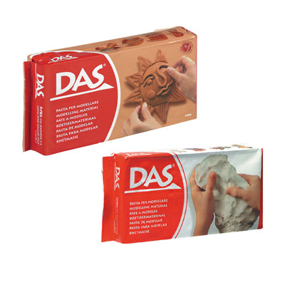 DAS Air-Drying Clay - 1kg - White or Terracotta