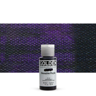 Golden Fluid Acrylics Dioxazine Purple