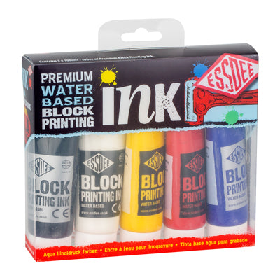 Essdee Block Printing Ink Set