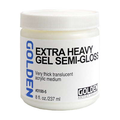 Golden Extra Heavy Gel Medium (Matte, Semi-Gloss or Gloss) - 237ml