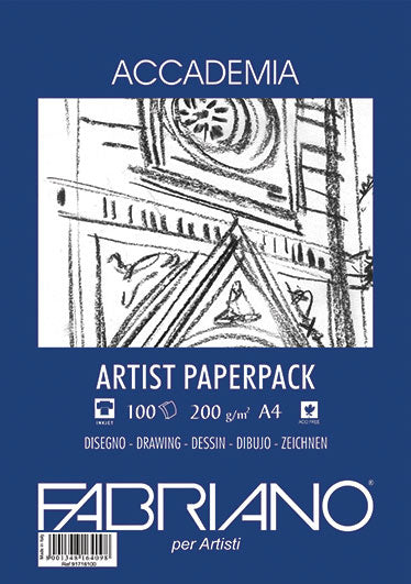 Fabriano Accademia Drawing Paper pack - 200g