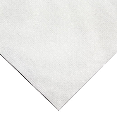Brilliant white Acrylic paper with a rough, natural grained surface that is internally sized and acid free offering archival permanence