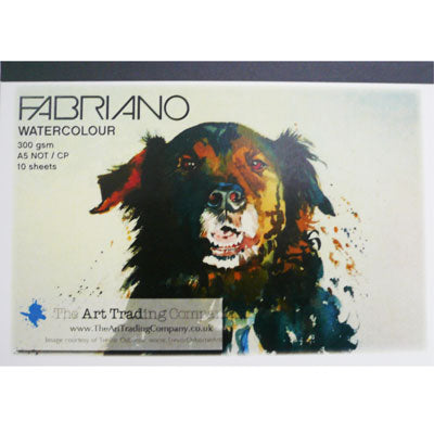 Fabriano NOT Watercolour pad