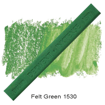 Derwent Inktense Blocks Felt Green 1530