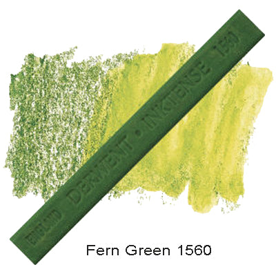 Derwent Inktense Blocks Fern Green 1560