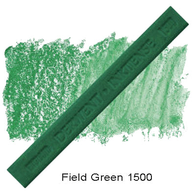 Derwent Inktense Blocks Field Green 1500