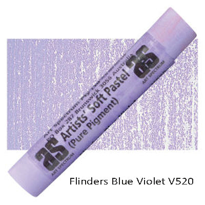 Art Spectrum Soft Pastels Flinders Blue Violet V520