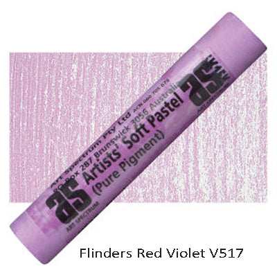 Art Spectrum Soft Pastels Flinders Red Violet V517
