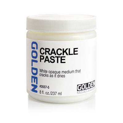 Golden Crackle Paste - 237ml