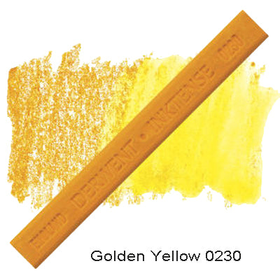 Derwent Inktense Blocks Golden Yellow 0230