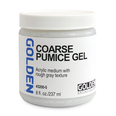 Golden Coarse Pumice Gel - 237ml