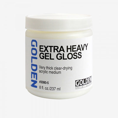 Golden Extra Heavy Gel Medium (Matte or Gloss) - 237ml