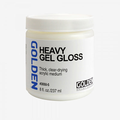 Golden Heavy Gel Medium (Matte or Gloss) - 237ml