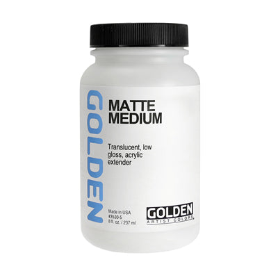 Golden Matte Medium - 237ml