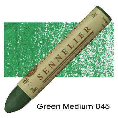 Sennelier Oil Pastels Green Medium 045