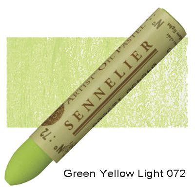 Sennelier Oil Pastels Green Yellow Light 072