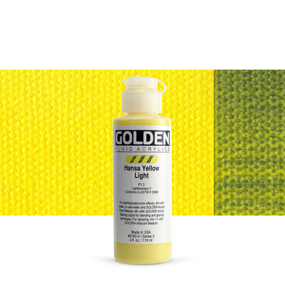 Golden Fluid Acrylics Hansa Yellow Light