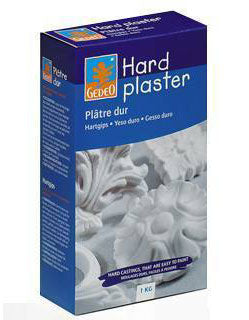 Top quality plaster for artistic casts, offering accuracy and strength
