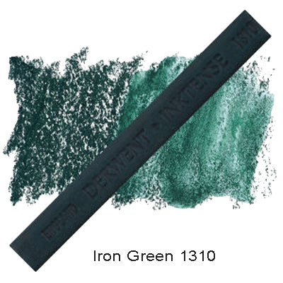 Derwent Inktense Blocks Iron Green 1310