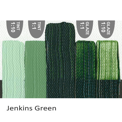 Golden Heavy Body Acrylic paint Jenkins Green