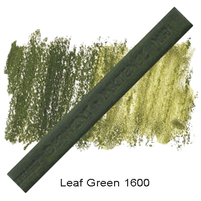 Derwent Inktense Blocks Leaf Green 1600