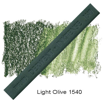 Derwent Inktense Blocks Light Olive 1540