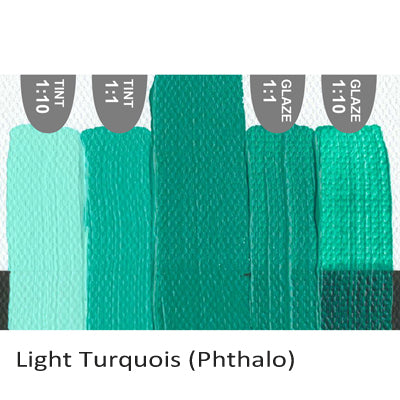 Golden Heavy Body Acrylic paint Light Turquois (Phthalo)